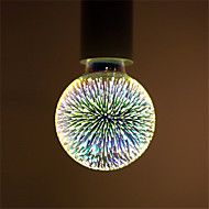 1pc G95 Led Fireworks Decorative 3D E27 Polyhedron Vintage Edison Bulb Home Bar Decor Lighting Lampada AC85-265V