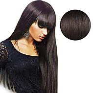 20kpl nauha hiusten pidennykset # 1B Natural Black pois musta 40g 16inch 20inch 100% hiuksista naisille