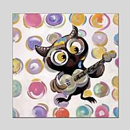 billiga Djurporträttmålningar-Hang målad oljemålning HANDMÅLAD - Djur Klassisk Moderna Inkludera innerram