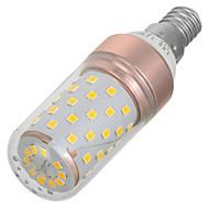 E14 LED-kornpærer 60 leds SMD 2835 Varm hvit Kjølig hvit 200-300lm 3000-6000K AC 220-240V