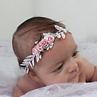 cheap Kids' Accessories-Unisex Hair Accessories,All Seasons Nylon Headbands-Gold Silver