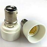 b15d til e14 lampe pære holder adapter belysning tilbehør 1pcs
