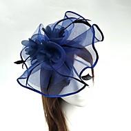 Χαμηλού Κόστους -Τούλι / Φτερό / Δίχτυ Γοητευτικά / Καπέλα / Βιτρίνα Πτηνών με 1 Γάμου / Ειδική Περίσταση Headpiece