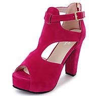 halpa -Sandaalit-Leveä korko-Naiset-PU--Ulkoilu-Comfort