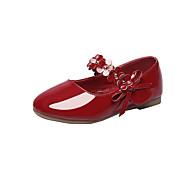 billige -60%-Gutt-Kunstlær-Flat hæl-Komfort-Flate sko-Bryllup Friluft Kontor og arbeid Fest/aften Fritid-Gull Hvit Svart Rød