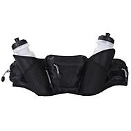 billige Rygsække og tasker-5L Bæltetaske - Regn-sikker, Støv-sikker, Åndbart Campering & Vandring, Klatring, Fritidssport Sort