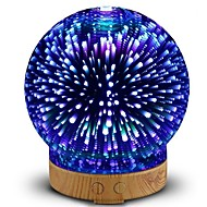 yeni hhy 3d mini usb seramik nemlendirici renkli gece çoklu zamanlama 100-240v