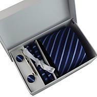 tanie Akcesoria dla mężczyzn-Męskie Solidny Vintage Imprezowa Do biura Na co dzień Krawat Jendolity kolor