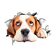 動物 カートゥン ファッション ウォールステッカー プレーン・ウォールステッカー 飾りウォールステッカー トイレステッカー,ビニール 材料 ホームデコレーション ウォールステッカー・壁用シール