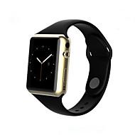 お買い得  スマートウォッチ-ブルートゥーススマートな腕時計の電話帳の呼び出しメッセージカメラ音楽歩数計睡眠モニタアラームios android smartphones