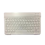 10 tommer mini trådløst bluetooth tastatur til ios / android / windows bluetooth 3.0 sort / hvid med usb kabel