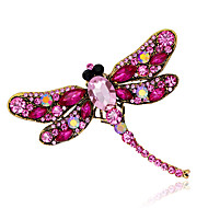 hesapli -Kadın Genç Kız Broşlar Hayvan Tasarımı Moda Kişiselleştirilmiş Euramerican Yapay Elmas alaşım Animal Shape Mücevher Uyumluluk Düğün Parti