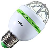 billige Globepærer med LED-HKV 3W 200-300 lm LED-globepærer 1 leds Høyeffekts-LED RGB
