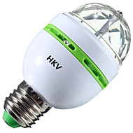 3W LED-globepærer 1 Høyeffekts-LED 200-300 lm RGB V 1 stk.