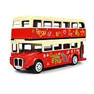 장난감 자동차 장난감 버스 장난감 버스 메탈 합금 조각 남여 공용 선물
