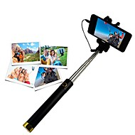 selfie stick selfie stickand for iphone 8 7 samsung galaxy s8 s7 ios / android -puhelimelle huawei xiaomi nokia