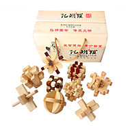 Drvene puzzle Mozgalice Puzzle Kongming Lock Puzzle Luban Lock IQ test drven 6-12 mjeseci