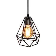 Χαμηλού Κόστους Φώτα έκπτωση-vintage μαύρο μεταλλικό κλουβί σοφίτα μίνι κρεμαστά φωτιστικά σαλόνι τραπεζαρία αίθουσα καφέ μπαρ φωτιστικό