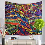 billige Veggdekor-Abstrakt Veggdekor Polyester / Polyamid كلاسيكي Veggkunst, Veggtepper Dekorasjon