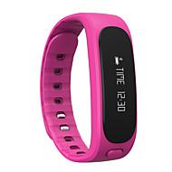 tanie Inteligentne zegarki-Inteligentne Bransoletka Ekran dotykowy Wodoszczelny Spalone kalorie Krokomierze Rejestr ćwiczeń Śledzenie odległości Obsługa wiadomości