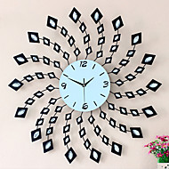 cheap Wall Clocks-Modern/Contemporary Iron Round Novelty Indoor/Outdoor,AA