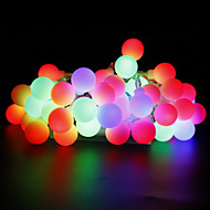W Cordões de Luzes lm AC220 AC 110-130 10 m 100 leds Branco Quente Branco Vermelho Amarelo Azul Rosa Multicolorido