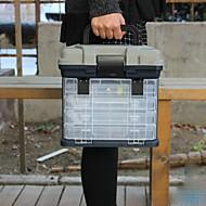 タックルボックス シートボックス 4 トレイ*18cm*17 高級ABS樹脂