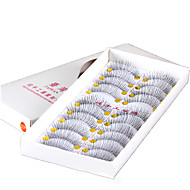 10 Pairs Clear Simple Transparent Band False Eyelashes Full Strip Lashes