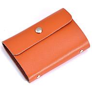 お買い得  Card & ID Holder-女性用 バッグ レザー カード&IDホルダー のために クリスマス / 結婚式 / 誕生日 フクシャ / コーヒー / Brown
