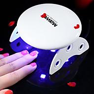 billige -6W Negletørkere UV-lampe LED-lampe Neglelakk UV-Gel