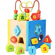 אבני בניין צעצוע חינוכי צעצועים ריבוע בגדי ריקוד ילדים חתיכות
