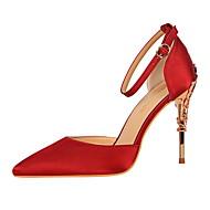 Ženske Cipele na petu Udobne cipele Umjetna koža Proljeće Jesen Formalne prilike Udobne cipele Kopča Stiletto potpeticaZelen Plava Light