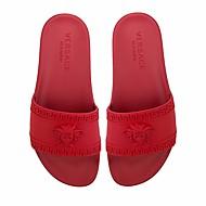 hesapli İndirim-Kadın's Ayakkabı PU Bahar Terlik & Flip-flops için Siyah / Kırmzı / Mavi