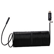 Kkmoon 7.0mm usb endoscoop waterdicht usb2.0 handheld borescope inspectie camera 0,3 megapixel 15m