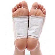 1箱のボディー毒素クレンジング健康的なスリミングデトックス足の足パッチパッドキット(10パッチ&10接着剤)