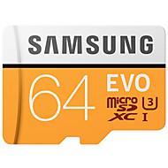 baratos -Samsung 64gb micro sd cartão tf cartão cartão de memória 100mb / s uhs-3 class10