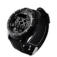 tanie Inteligentne zegarki-Inteligentny zegarek Wodoszczelny Spalone kalorie Krokomierze Rejestr ćwiczeń Kontroler głośności Informacje Obsługa wiadomości Obsługa