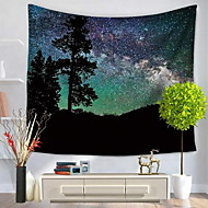 Wall Decor 100% Polyester Patterned Wall Art,Wall Tapestries of 1