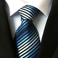 miesten muoti kaikki polyster necktieneckwear raidallinen kaikkina vuodenaikoina