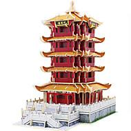 hesapli Modeller ve Model Kitleri-Robotime 3D Yapbozlar Yapboz Ahşap Modeli Modely Kule Ünlü Binası Mimari 3D Kendin-Yap Tahta Klasik 6 Yaşında ve Üstü