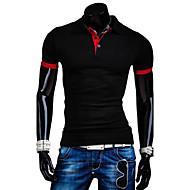 Majica s rukavima Muškarci Jednobojni Pamuk