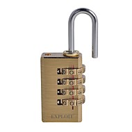 EXPLOIT 042306 Password Lock 4 Digit Password Door Lock Dail Lock Password Lock