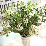 hesapli -10 şube İpek Lila Masaüstü Çiçeği Yapay Çiçekler