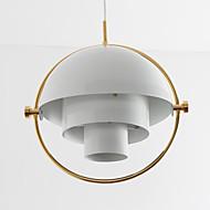 Post modern europe style pyöritä sävy kattokruunu lamppu makuuhuone / olohuone / ruokala / baari / sisäänkäynnin koristella valaisin