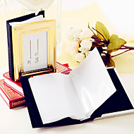cheap Practical Favors-Wedding Anniversary Photo Album and Place Card Holder 4 x 3 inch Beter Gifts® DIY Party