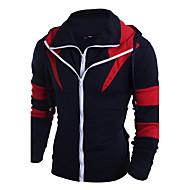 Muškarci Veći konfekcijski brojevi Sport Klasik Aktivan Moda Novi Dolazak Special Stil Pletenina Dizajnerske Dugih rukava Slim Hoodie -