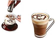 8pcs café novidade fantasia café garland molde impressão molde