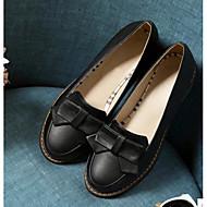 Femme Chaussures Cuir Nubuck Polyuréthane Eté Confort Mocassins et Chaussons+D6148 Avec Pour Décontracté Noir Beige Bleu Rose
