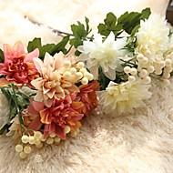 1 Ramo Poliéster Plástico Outras Flor de Mesa Flores artificiais