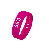tanie Inteligentne zegarki-Inteligentne Bransoletka Spalone kalorie Krokomierze Rejestr ćwiczeń Śledzenie odległości Krokomierz Rejestrator aktywności fizycznej